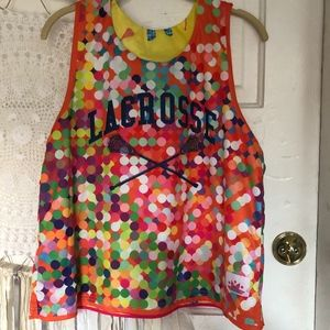 Lacrosse Pinnie Reversible Mesh Tank Top